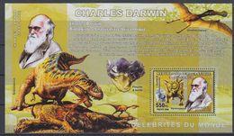 Congo 2006 Charles Darwin M/s Perforated ** Mnh (40999) - Democratische Republiek Congo (1997 - ...)
