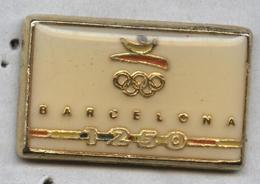 Pin's JO Jeux Olympiques Barcelone Barcelona 1250 - Jeux Olympiques