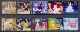 Japan - Walt Disney's Characters 2014 (52 Yens) - 1989-... Empereur Akihito (Ere Heisei)