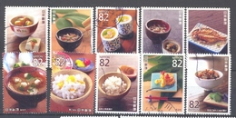 Japan - Traditional Dietary Culture Series N°1 2015 - 1989-... Empereur Akihito (Ere Heisei)