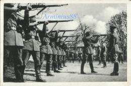 """Wehrmacht - """"Schießübungen"""" - Karabiner 98k (Kar98k) - Briefstempel - Schwadron - Ludwigslust - 11.10.41 - Feldpost - Weltkrieg 1939-45"""