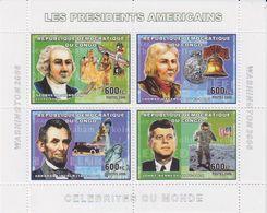 Congo 2006 American Presidents M/s PERFORATED ** Mnh (40999A) - Democratische Republiek Congo (1997 - ...)