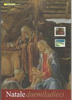Italia, 2010, Folder Natale, Completo. - Italie