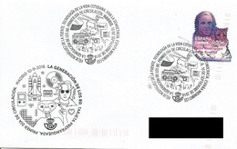SPAIN. FDC  GENERATION OF THE 80. FELIX RODRIGUEZ DE LA FUENTE. 2018 - FDC