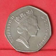 GREAT BRITAIN 50 PENCES 1997 -    KM# 940,2 - (Nº25854) - 1971-… : Monnaies Décimales