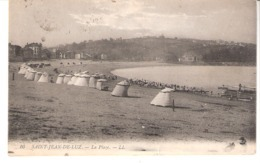 """Saint-Jean-de-Luz (Pyrénées Atlantiques)-Ecrite Le 5/08/1918 Du """"Modern Hôtel""""-Cabines De Plage-Timbres Semeuse YT137 - Saint Jean De Luz"""
