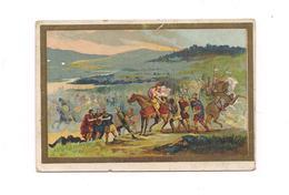 CHROMO   CHICOREE WILLIOT -  LA BATAILLE DE PRESLE - - Trade Cards