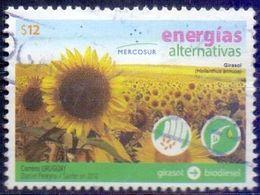 Used Uruguay 2012, Alternative Energy Sources - One-year Sunflower (Helianthus Annuus) 1V. - Uruguay