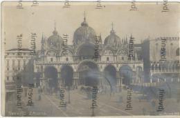 VENEZIA - Piazza Di S. Marco Senza Il Campanile Di S. Marco (rara Fotografia) - Venezia (Venice)