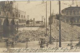 VENEZIA - Le Rovine Del Campanile Di S. Marco  Crollato Il 14 Luglio 1902 - Rara Fotografia - Venezia (Venice)