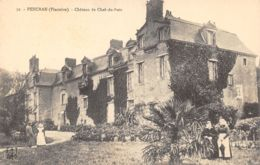 29-PENCRAN-CHÂTEAU DE CHEF DU BOIS-N°352-B/0241 - France