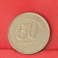 ANGOLA 50 CENTIMOS 2012 -    KM# 107 - (Nº25855) - Angola