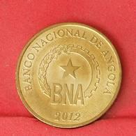 ANGOLA 1 KWANZAS 2012 -    KM# 108 - (Nº25856) - Angola