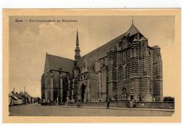 Geel . - Sint-Dimphnakerk En Rhijnstraat (Edit. Gegy ,Brux. ) - Geel