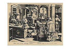 HORLOGERIE CARTE PUBLICITAIRE DE Mr. Jean-Loup BARRBIER RESTAURATION DE PENDULES EXPERT 54 NANCY - Bijoux & Horlogerie