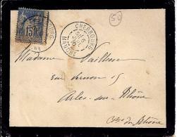 50 - MANCHE - CHERBOURG  - 1910 - TàD DE TYPE A2 - Marcophilie (Lettres)