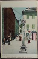 SIENA Piazza Tolomei Con Via Cavour - Formato Piccolo Retro Indiviso - Non Viaggiata - Da Fot. ALINARI - Siena