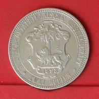 GERMAN EAST AFRICA 2 RUPIEN 1893 - 23,32 GRS - 0,917 SILVER   KM# 5 - (Nº25868) - East Germany Africa