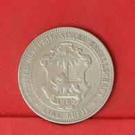 GERMAN EAST AFRICA 1 RUPIE 1898 - 11,65 GRS - 0,917 SILVER   KM# 2 - (Nº25869) - East Germany Africa