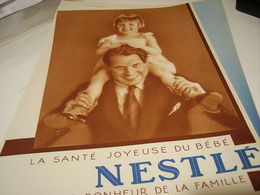 ANCIENNE PUBLICITE BEBE NESTLE ANNEE 1930 - Posters