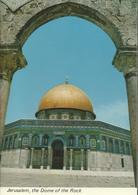 Jerusalem, The Dome Of The Rock - La Coupole Du Dome Du Roc. - Israel