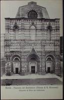 SIENA Facciata Del Battistero (Chiesa Di S.Giovanni) Giacomo Di Mino Del Pellicciaio - Formato Piccolo - Non Viaggiata - Siena