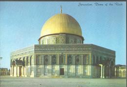 Jerusalem,  Dome Of The Rock - La Coupole Du Dôme De Roc - Israel