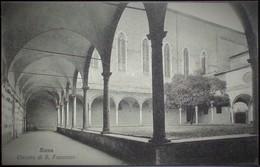 SIENA Chiostro Di S.Francesco - Formato Piccolo - Non Viaggiata - Siena
