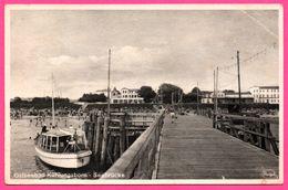 Ostseebad Kühlungsborn - Seebrücke - Port - Voilier - Animée - STENGEL - 1943 - Kuehlungsborn