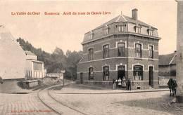 Bassenge - Arrêt Du Tram De Genck-Liers (animée, Café Du Tram, Edit H. Kaquet) - Bassenge