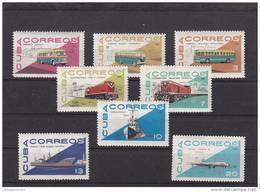 Cuba Nº 942 Al 949 - Unused Stamps