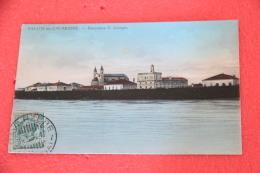 Cavarzere Venezia Panorama S. Giorgio 1912 Ed. Mantelli Molto Bella - Italie