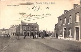 Ougrée - Fontaine Du Biez-du-Moulin (belle Animation, 1906, Edition Chapa-Ley) - Seraing