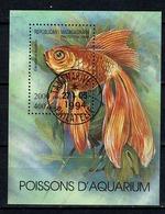 Madagasikara 1994  Yv Bf 96  (o) Used  Tananarive 22-05-1994 Aquarium Fish - Madagascar (1960-...)