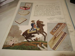 PUBLICITE PUBLICITE CIGARETTE HAUS NEUERBURG 1930 - Tabac (objets Liés)