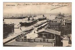 EGYPTE - PORT SAID Vue Générale Du Port - Port Said