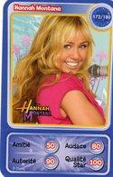Carte Disney Pixar Auchan Neuve Disney Hannah Montana 172 - Disney