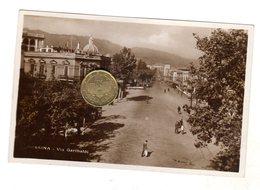 MESSINA    Via Garibaldi  Viaggiata Con Bollo - Messina