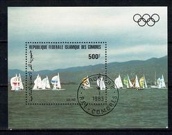 Comores 1983 Yv. Bf 38 (o) Used Moroni 1983 - Olympic Sailing - Comores (1975-...)