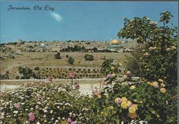 Jerusalem - Vue Générale De La Cité Du Haut Du Mont Des Oliviers - Israel