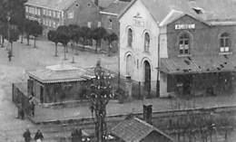 Aubel - Panorama (animée, Vue Sur Gare, Edit. Bloemen-Lion) - Aubel