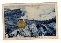 Isola Di Vulcano Eolie Viaggiata 1931 Rara - Autres Villes