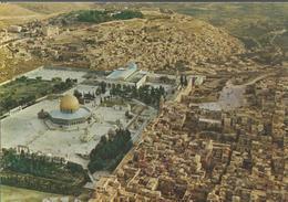 Jerusalem -  Vieille Ville - Mont Du Temple Avec Le Dôme Du Roc Et La Mosquée De L'Aksa - Israel