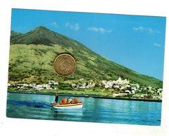 Isola Di Stromboli Eolie Viaggiata Con Bollo - Autres Villes