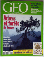 """{10101} GEO N°187, 1994, Un Nouveau Monde: La Terre. Sahara Tibesti Inde Palestine Iles Shetland Histoire """" En Baisse """" - Géographie"""