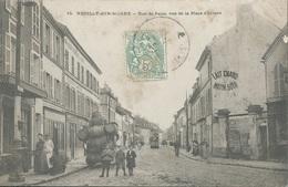 93 CPA NEUILLY SUR MARNE Rue De Paris Tonneaux - Neuilly Sur Marne
