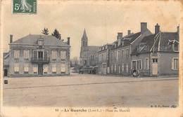 La Guerche Sur L'Aubois      18      Place Du Marché     ( Voir Scan) - La Guerche Sur L'Aubois