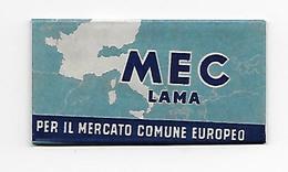 LAMETTA DA BARBA - MEC LAMA   -   ANNO 1960  - - Lamette Da Barba