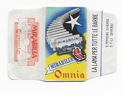 LAMETTA DA BARBA - MIRABILIA OMNIA   -   ANNO 1950  - - Lamette Da Barba
