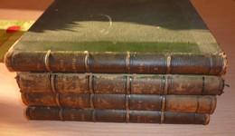 """LOT De 4 REVUE """" LE TOUR DU MONDE """" Par E.CHARTON .Années 1862 1er Sem, 1866 1er Sem, 1869 2ème Sem, 1878 2ème Semestre - 1801-1900"""
